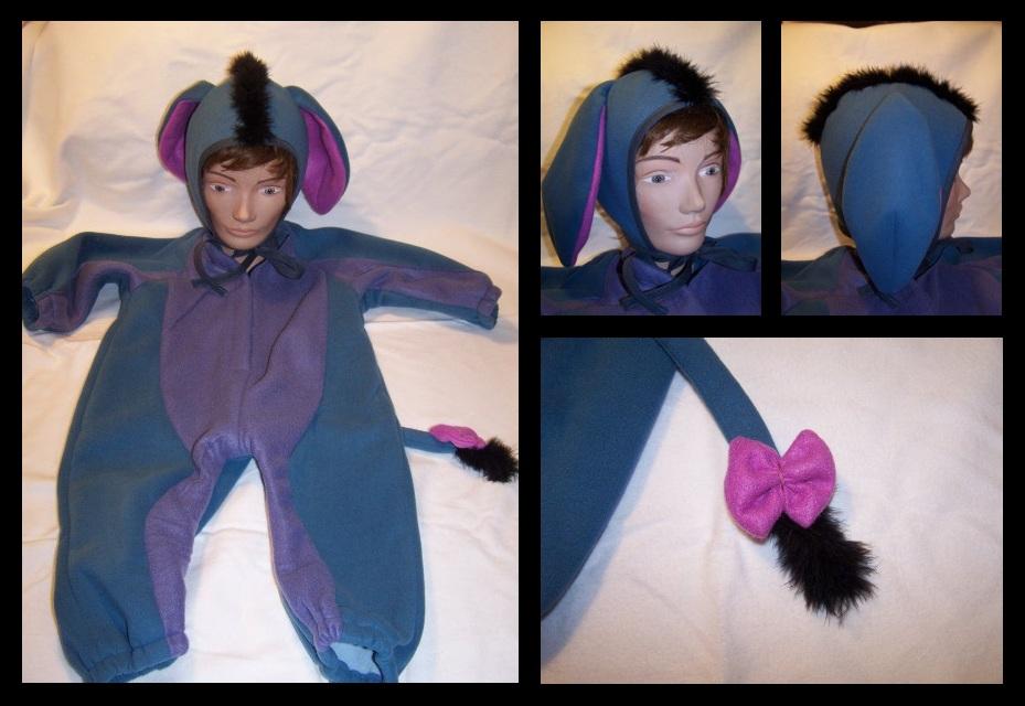 Costume de Bourriquet - taille 4 ans